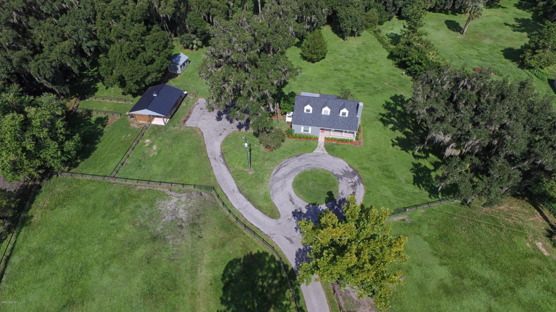Aerial View_12344 SE 47th Ave., Belleview, FL 34420