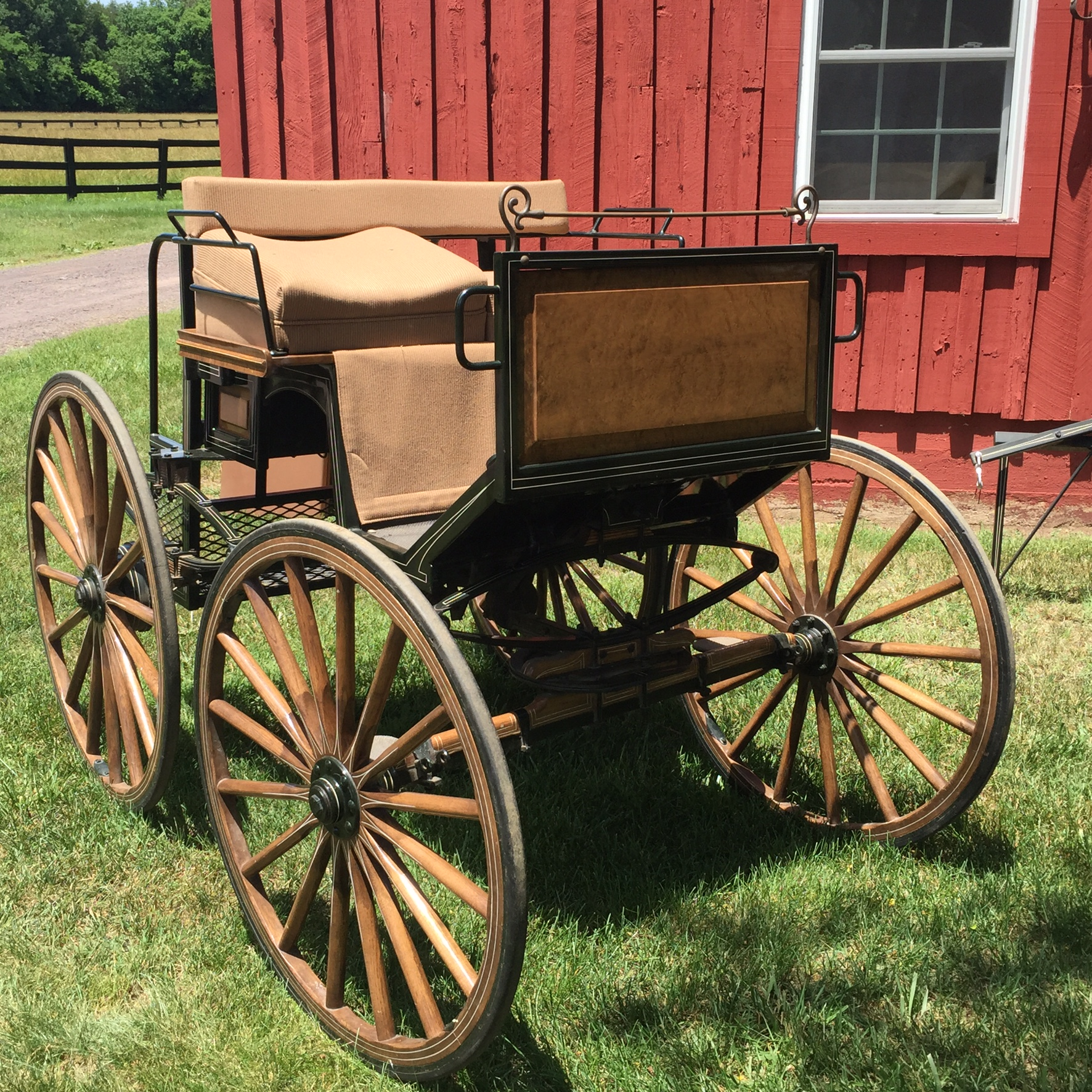 Carriage For Sale - Bird In Hand Flyer for Pony Single and Pair