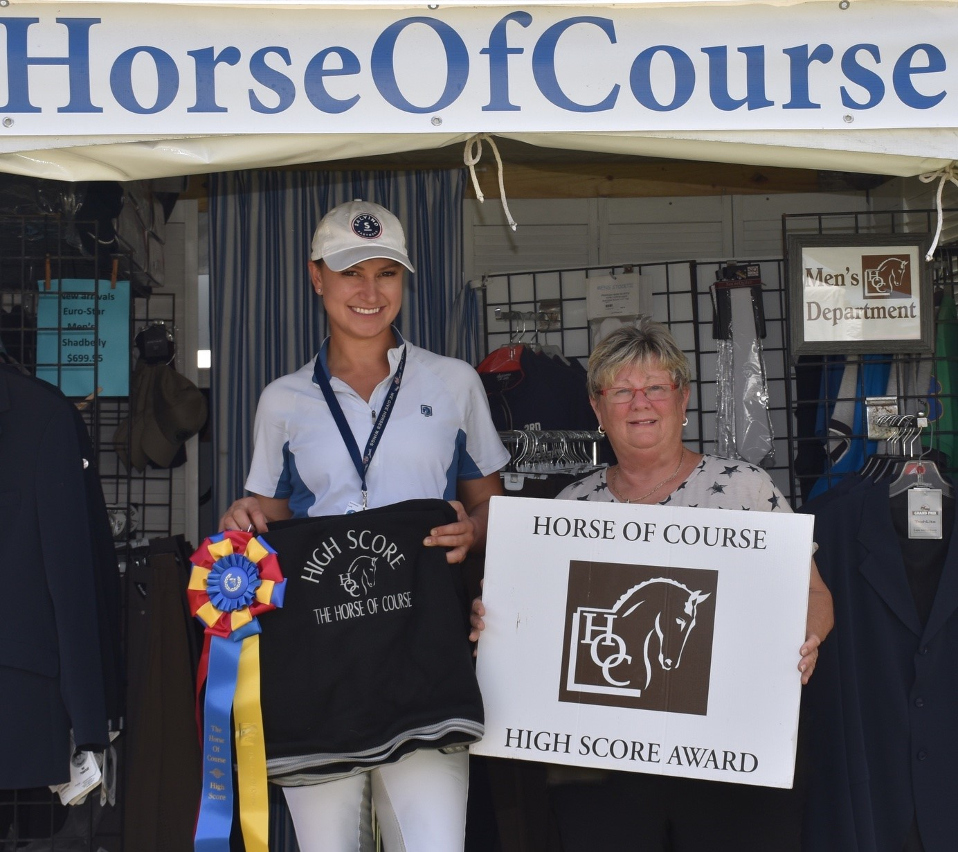 Adrienne Lyle And Belinda Trussell Clinch The Horse Of