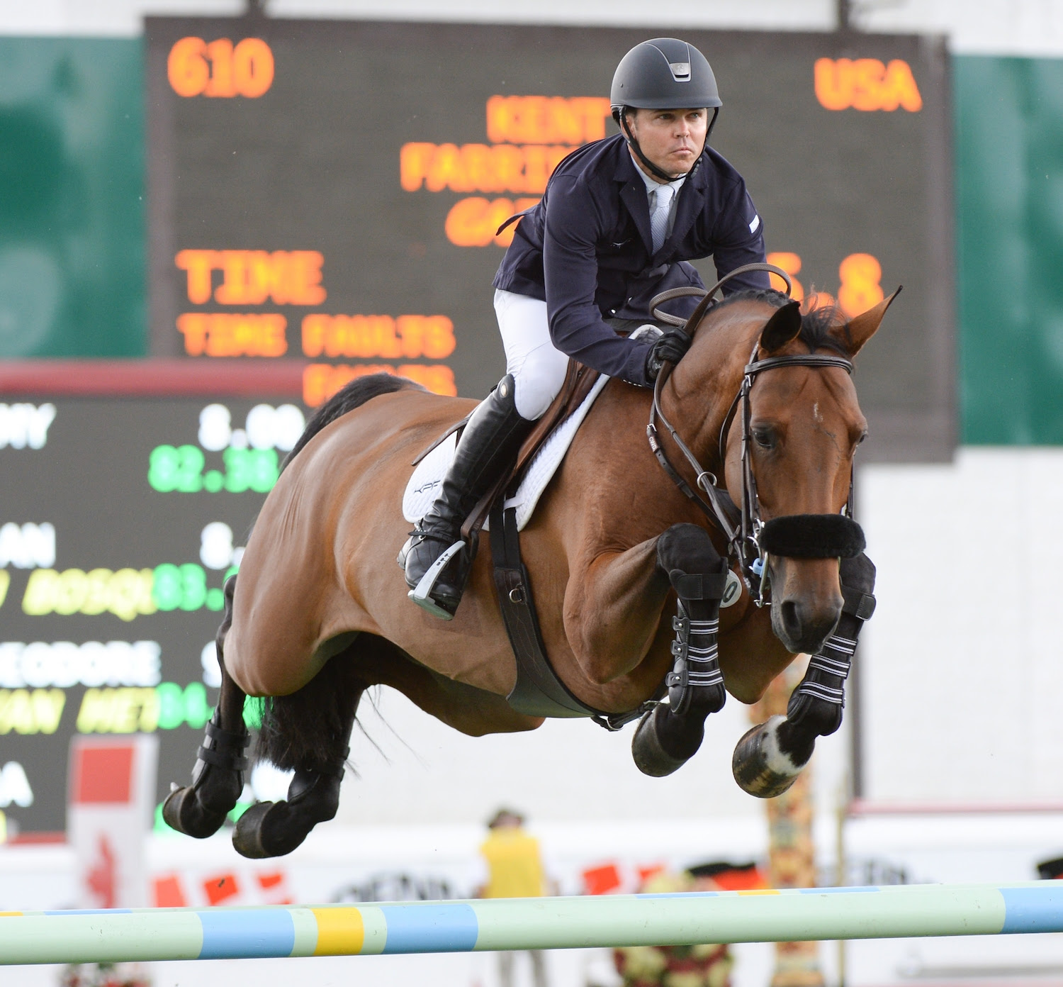 Kent Farrington And Gazelle Win 375 000 Pan American Cup