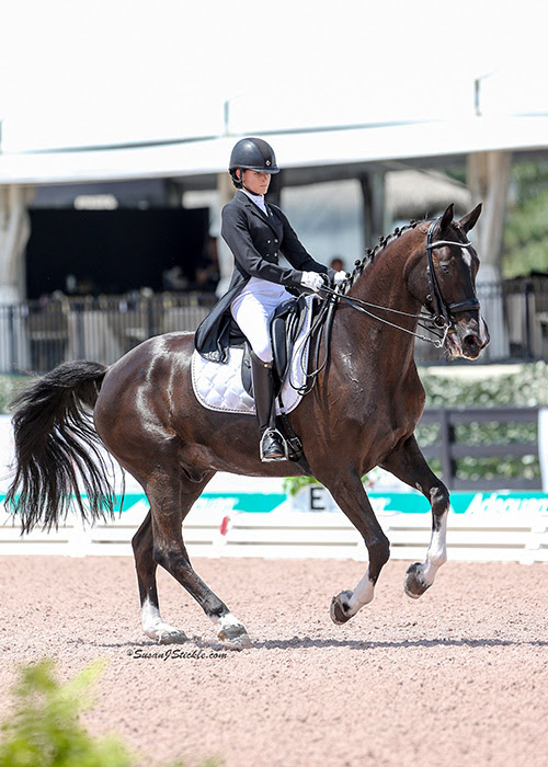 Sierra Keasler Accepts Invite For Usef S Select Athlete S