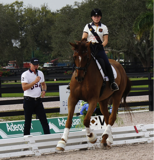 Young Riders Shine On the First Day of the National