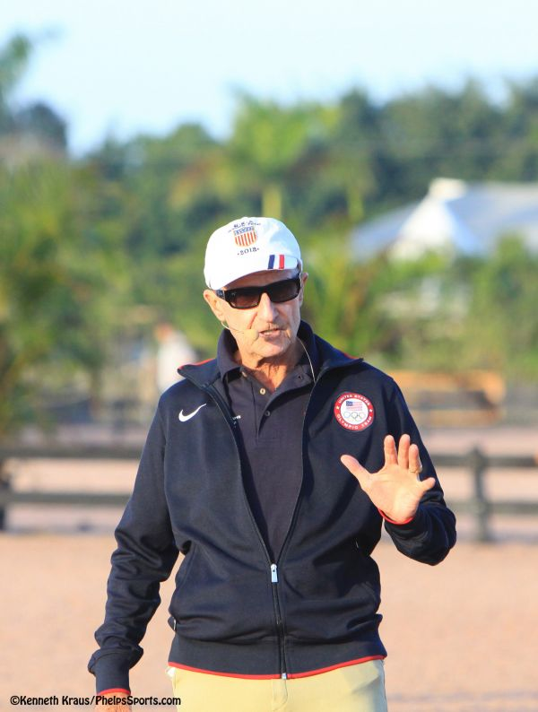 George Morris Heads West For Horsemastership Clinics