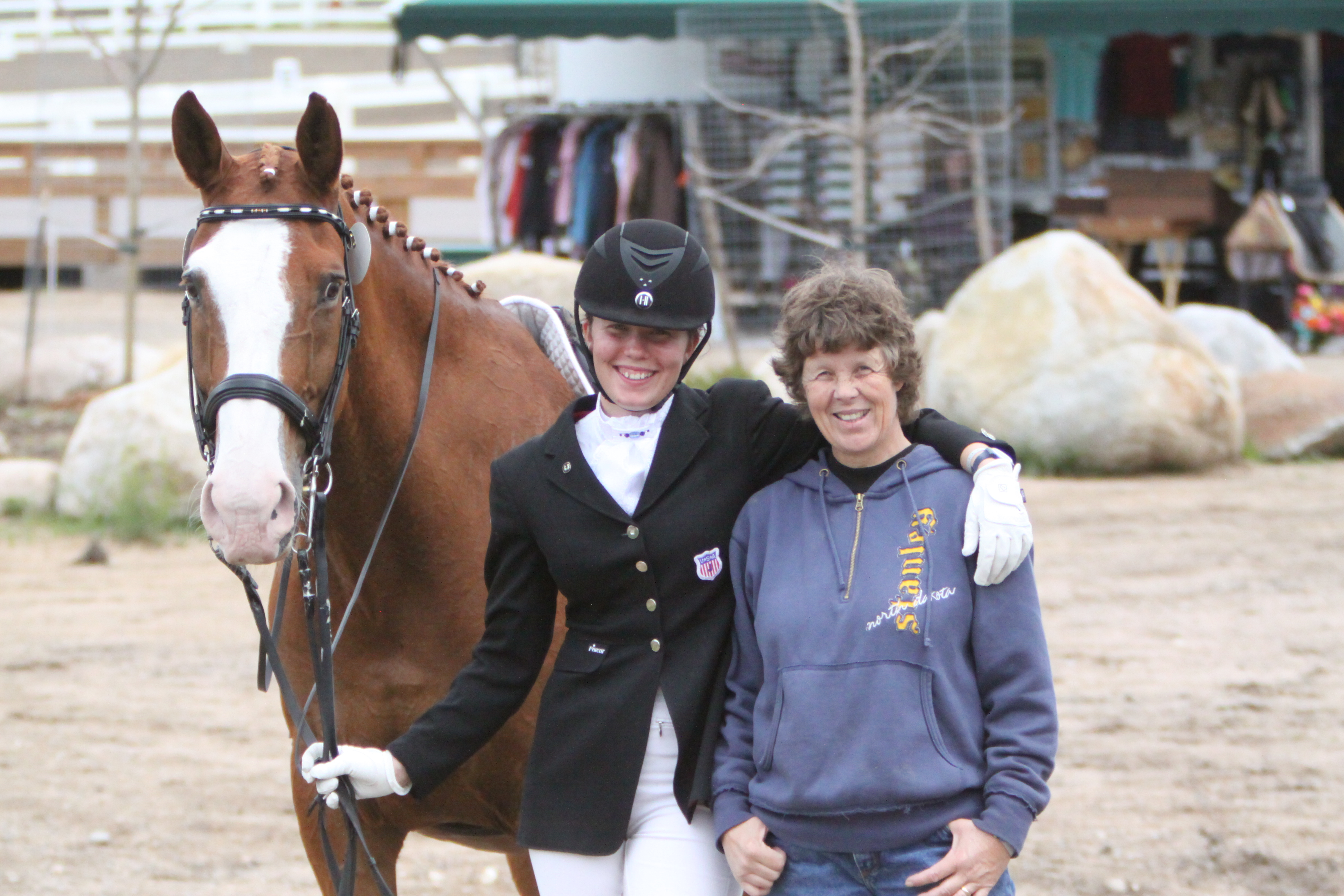 Young Horses and Young Riders are the Highlights of Day