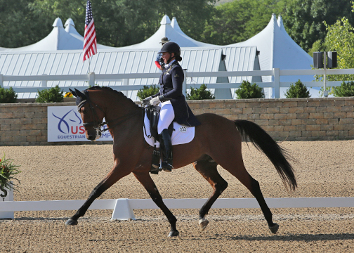 Jodie Kelly and Caymus by Sir Sinclair Named to the US Developing Driver List