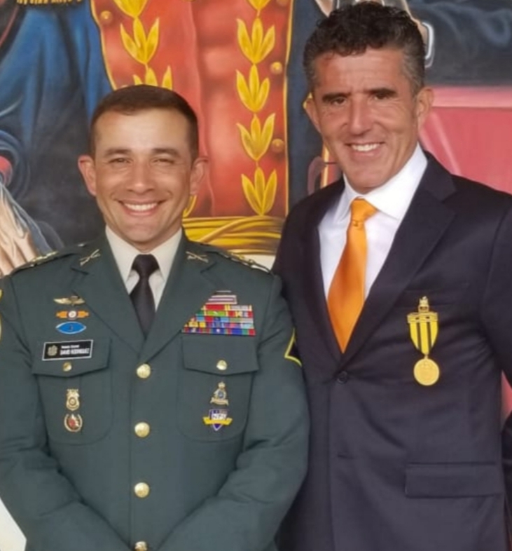 Colonel Rodriguez and Dr. Parra
