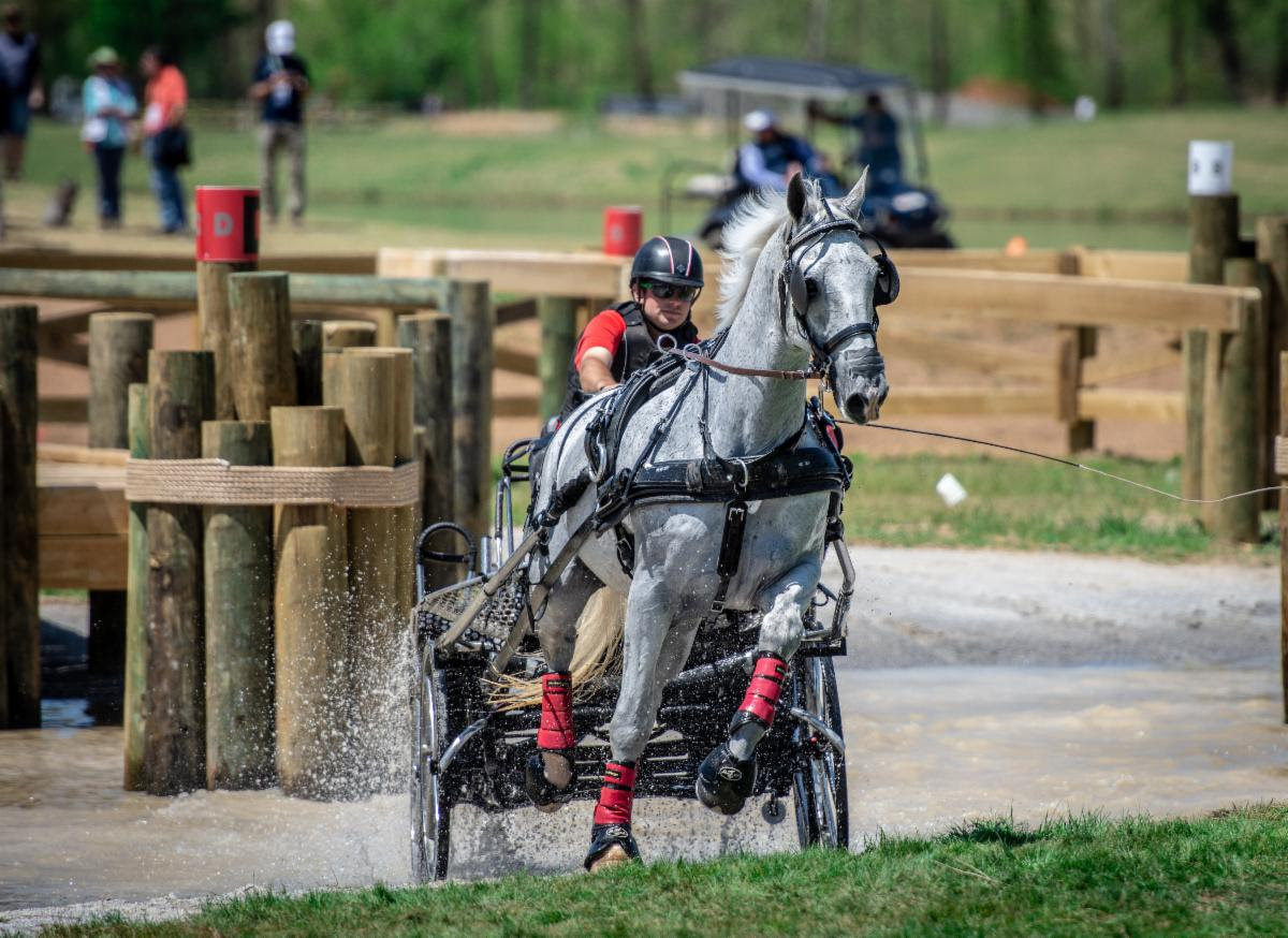 Jacob Arnold at the 2018 WEG Test event at Tryon