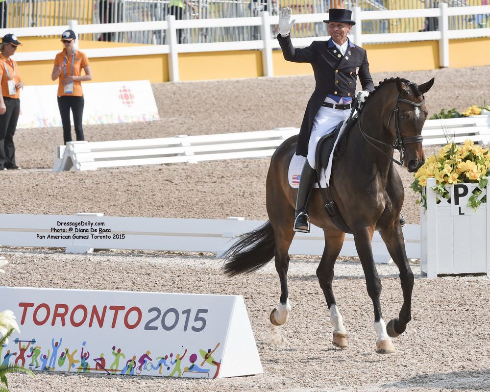 Images and Observations of Pan American Dressage ...