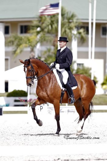 Lars Petersen and Mariett claim first place in the Grand Prix (Photo: Susan J Stickle)