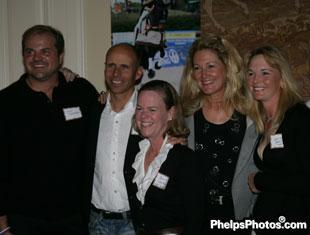 Todd Flettrich, Steffen Peters, Bonnie Jenkins, Tina Konyot, and Katherine Bateson
