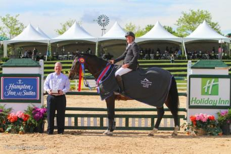 Paul Rohrbach and Camerino, winners of the ,000 Holiday Inn of Parker Grand Prix