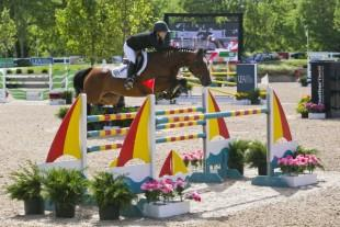 Kelsey Thatcher and Athena captured the ,000 Barrington Saddlery Grand Prix victory during the Showplace Spring Spectacular I.