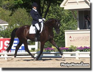 Debbie Hill and Leslie Waterman's Hannoverian Gelding by Sir Donnerhall, Sir Sherlock