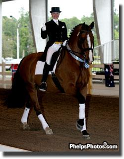 Shawna Harding and Come On III will now represent the US at the 2012 World Cup Dressage Final in s' Hertogenbosch (Photo: Phelpsphotos.com)
