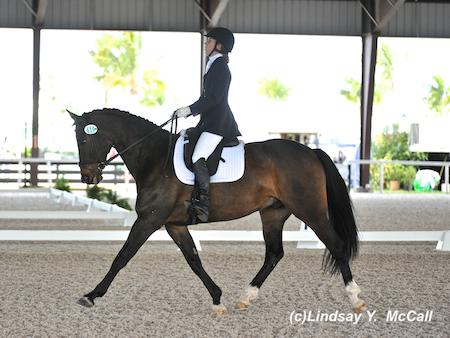 Kate Shoemaker and Arpeggio 2014 Adequan Global Dressage Festival CPEDI3*. Photo by Lindsay McCall