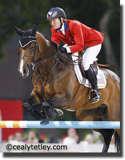 Beezie Madden and Authentic at the Hong Kong Olympic Games 2008 (Photos: Cealy Tetley - tetleyphoto.com)
