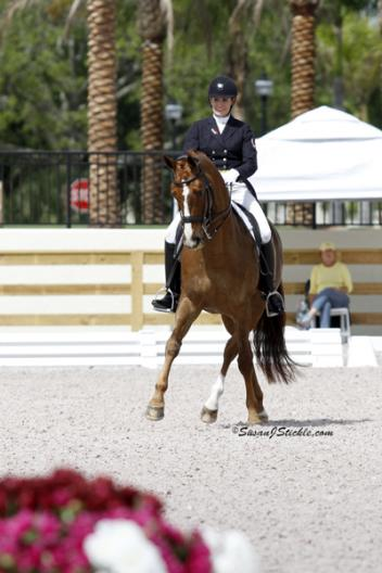 Ashley Holzer and Pop Art were the big winners of the FEI Grand Prix at the ,000 Wellington Dressage Classic CDI***, presented by the Chesapeake Dressage Institute, held March 15-18 at the Global Dressage Festival (GDF)Stadium show grounds in Wellington, FL. (photo: SusanJStickle.com)