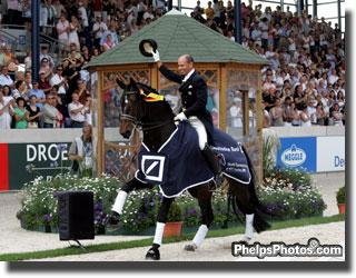 Ravel and Steffen Peters became the first US duo to sweep all CHIO classes at Aachen (Photo: Phelpsphotos.com)