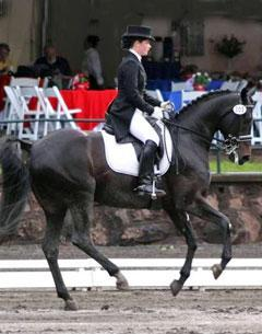 McKenzie Jenkins and Tsarina at the Collecting Gaits/USEF National Young Rider Championships