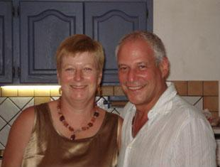Diana Mukpo and husband Dr. Mitchell Levy