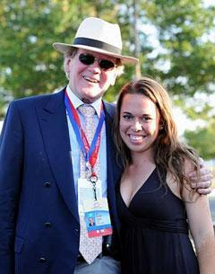 Alltech's Dr. Lyons and HorsesDaily intern Stefanie Jones