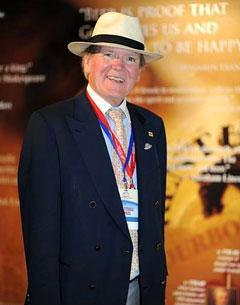 Dr. Pearse Lyons in the Alltech Pavillion