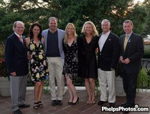 Dr. Pearse Lyons and John Nicholson with US Dressage Team