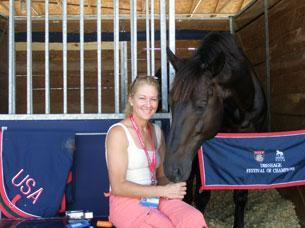 Tina Konyot and Calecto V will be sitting out the 2011 Dressage World Cup Final