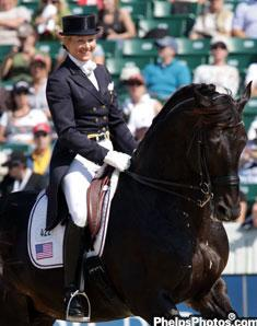 Tina Konyot and Calecto V at the Alltech/FEI World Equestrian Games