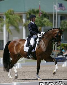 Arlene Page and Alina winners of the International Horse Sport Champions Cup