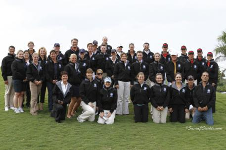 Nations Cup Competitors and Chefs d'Equipe at the Global Dressage Festival [Photo: SusanJStickle.com]