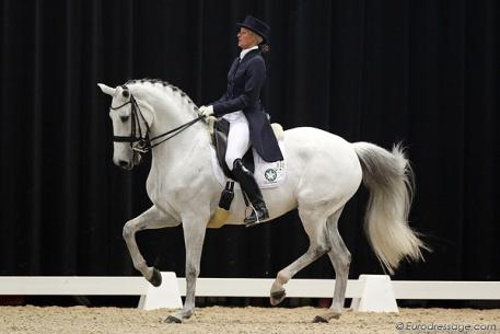 Silvia Rizzo and Donna Silver (Photo: © Eurodressage.com)