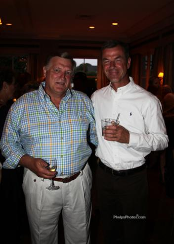 Stephen Cooper and Dr. Ulf Moberg of PSI International Horse Sales