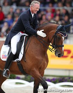 Jan Ebeling and Rafalca (Photo: Eurodressage.com)