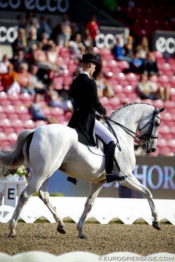 Denmark's Daniel Bachmann and Donna Silver (Photo: Eurodressage.com)