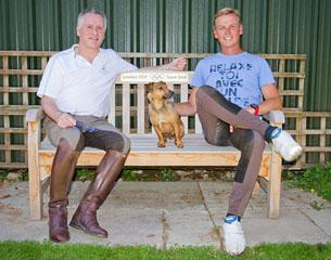 Richard Davison and Carl Hester