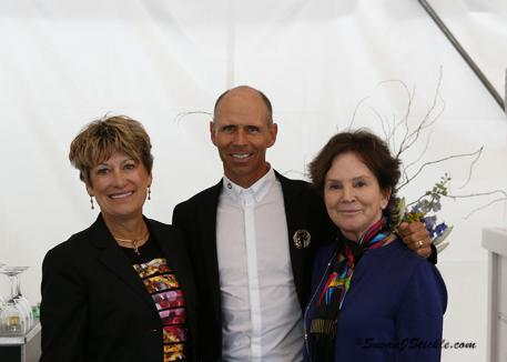 Three time National Grand Prix Champion Steffen Peters received the USEF Gold Medal of Distinction