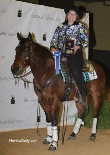 Lisa Yervasi (Photo by HorsesDaily.com)