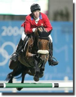 Amy Tryon and Poggio II at the 2008 Bejing Olympic Games.