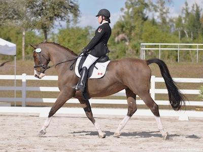 Grade 1b Ashley Gowanlock (CAN) and Maile