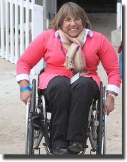 Hope Hand - president of the US Para Equestrian Association