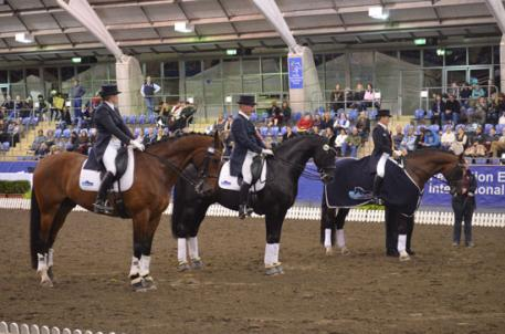L-R – Rozzie Ryan and GV Bullwinkle; Heath Ryan and Regardez Moi; Sheridyn Ashwood and Prestige VDL (Photo: Michelle Cook)