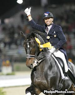 Double bronze medallist at the Alltech/FEI World Equestrian Games, Steffen Peters and Ravel to compete at the World Dressage Masters Palm Beach
