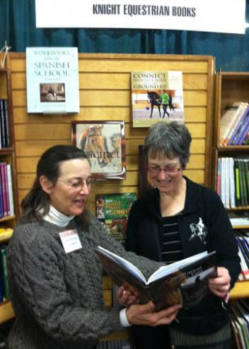 Janet Blevins of Knight Equestrian Books - Books and DVDs for every equine interest!