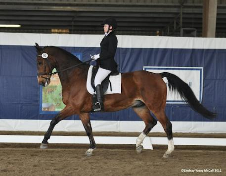 Briana Beckworth (USA Grade II) and Basquewille