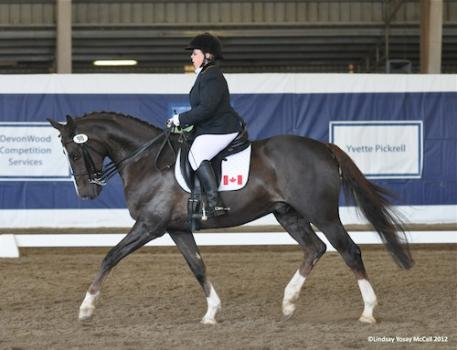 Lynne Poole (CAN Grade IV) and Vasco E