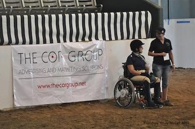 The COR Group sponsored the 2012 HDS CPEDI3*