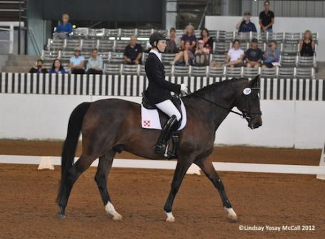 Olympian Courtney King-Dye will be joining the United States riders as a result of obtaining the score she needed to head to Gladstone as a Grade Ia Para-Equestrian