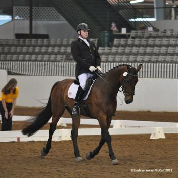 Jonathan Wentz (USA) Grade Ib also competed Silvano, owned by Dr. Michele Miles