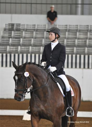 Courtney King-Dye (USA) Grade Ia and Nicolai, owned by Andrea Hart